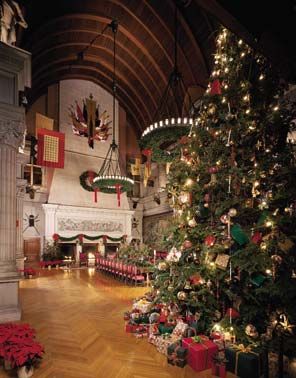 That's what happens not once, but twice every year during Christmas at Biltmore Estate in ...