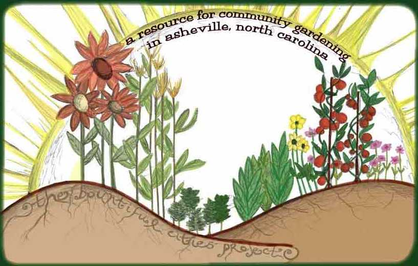 Community Drawing Community Garden Drawing