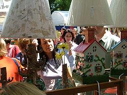 Asheville 40th annual village art craft fair for Asheville arts and crafts biltmore village