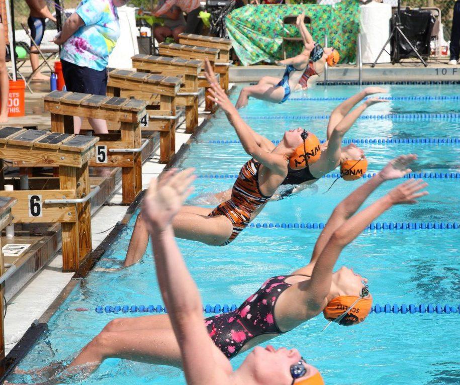 unc swim meet schedule in your arms