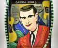 George Jones Art Piece