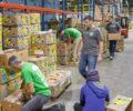 Volunteers at Mana Foodbank