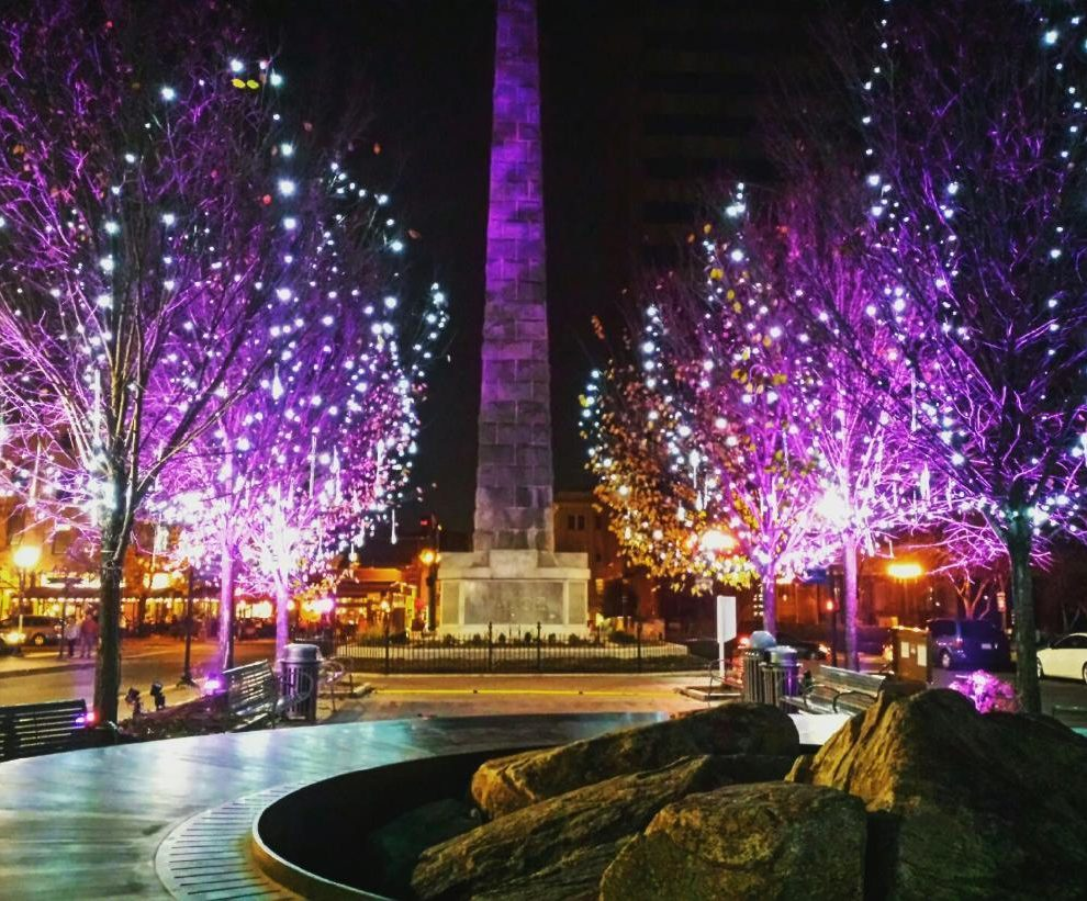 winter lights downtown returns to asheville with new look