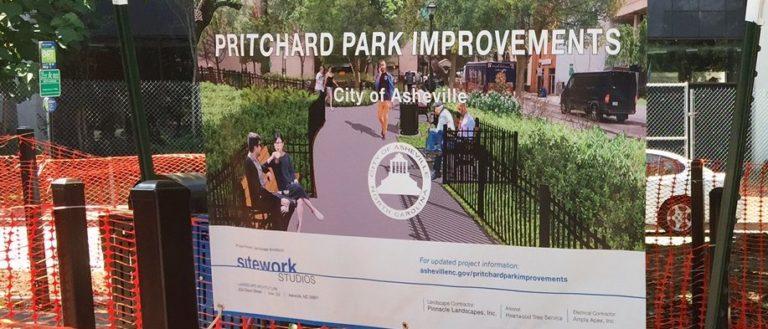 Pritchard Park Construction