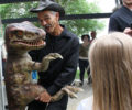 interactive and educational Dakota and Friends features six types of dinosaurs