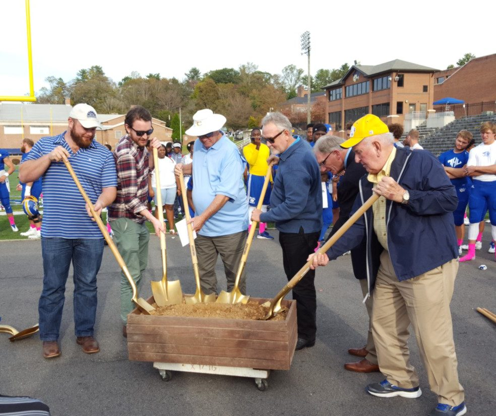 Groundbreaking Ceremony for JoEllen Ammons Athletic Field House at Mars Hill University