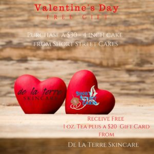 Valentine's Day Special Offer- FREE GIFT @ Short Street Cake   Asheville   North Carolina   United States