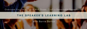 Overcome Your Fear, Speak with Power & Craft a Remarkable Presentation @ The Collider  |  |  |