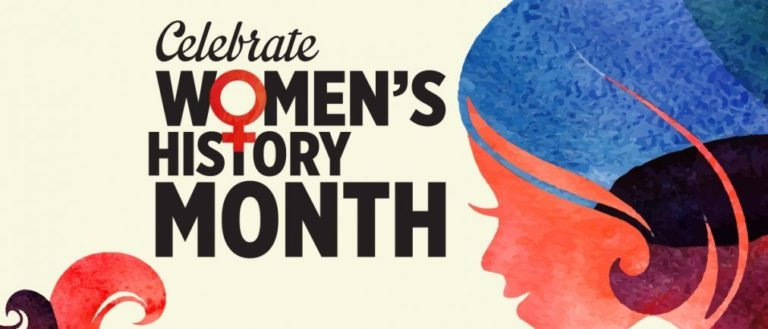 A poster for Women's History Month.