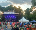The audience at RiverFest.