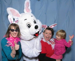Easter Bunny Comes to Valley View Mall